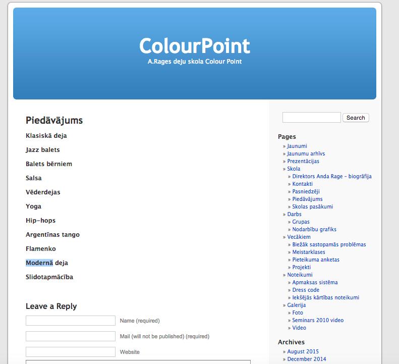 Foto: http://www.colourpoint.lv