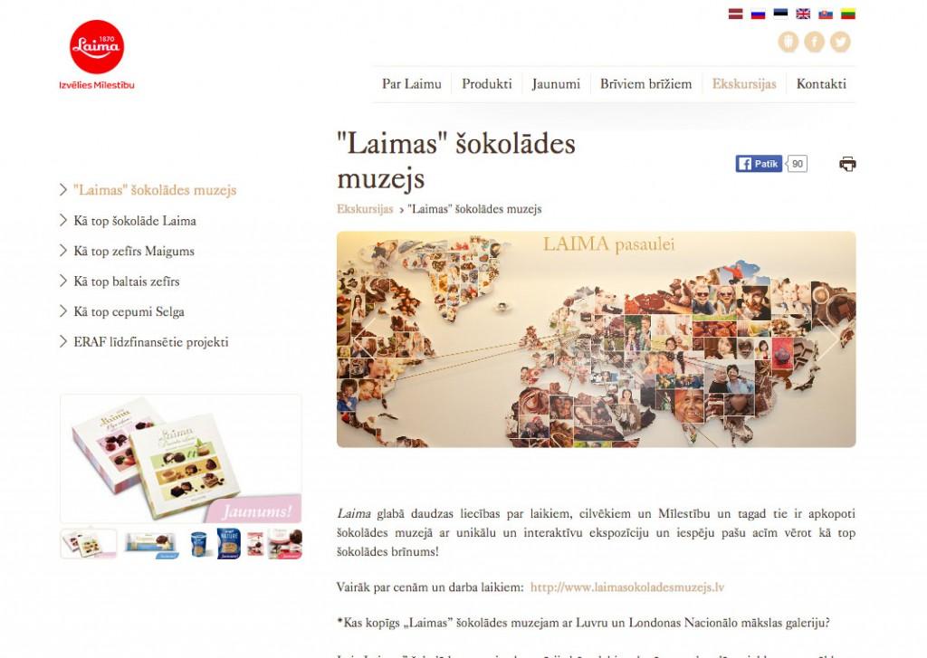 Foto: www.laima.lv